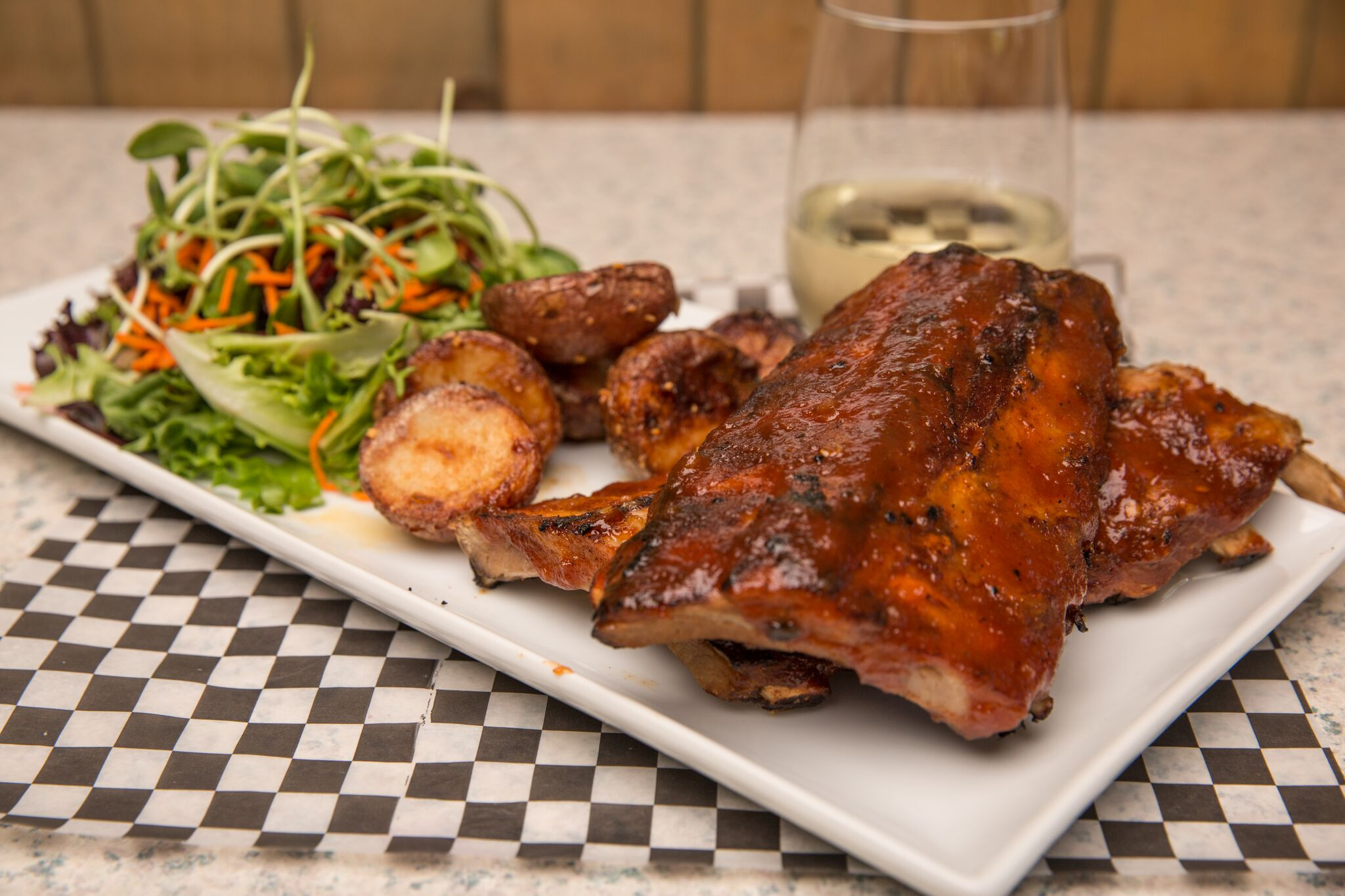 Apple Bourbon Ribs - Kelowna Restaurant | Brandt's Creek Pub