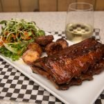 Celebrate the Summer Weather with our Apple Bourbon BBQ Sauce & Ribs