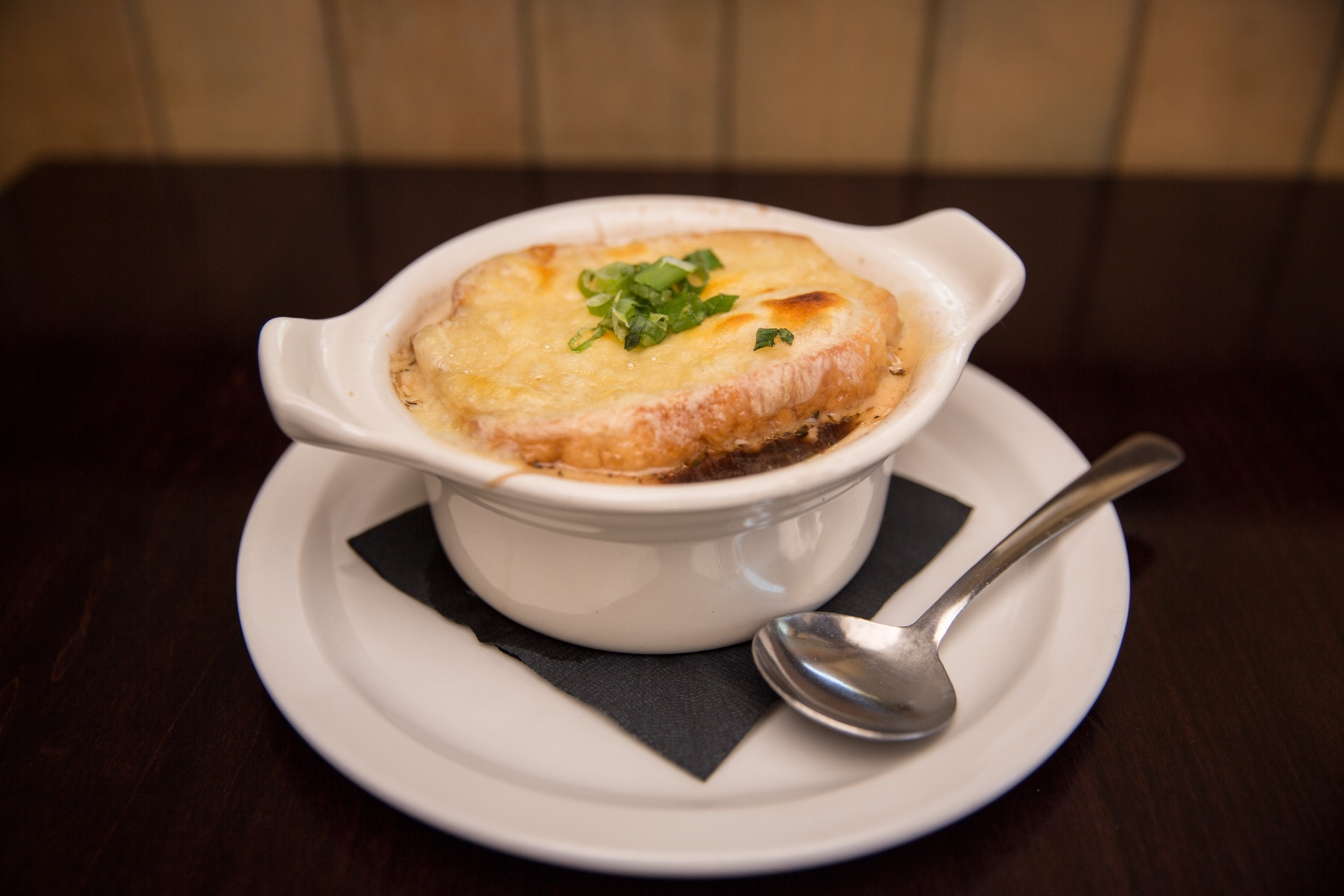 French onion soup appetizer